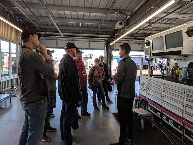 NASCAR Garage Tour - Anatomy of a NASCAR Sponsorship
