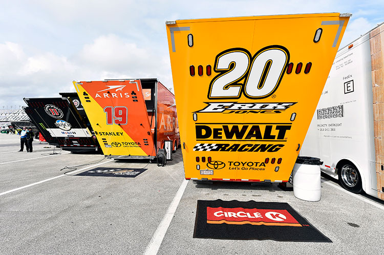NASCAR Hauler photo - Anatomy of a NASCAR Sponsorship