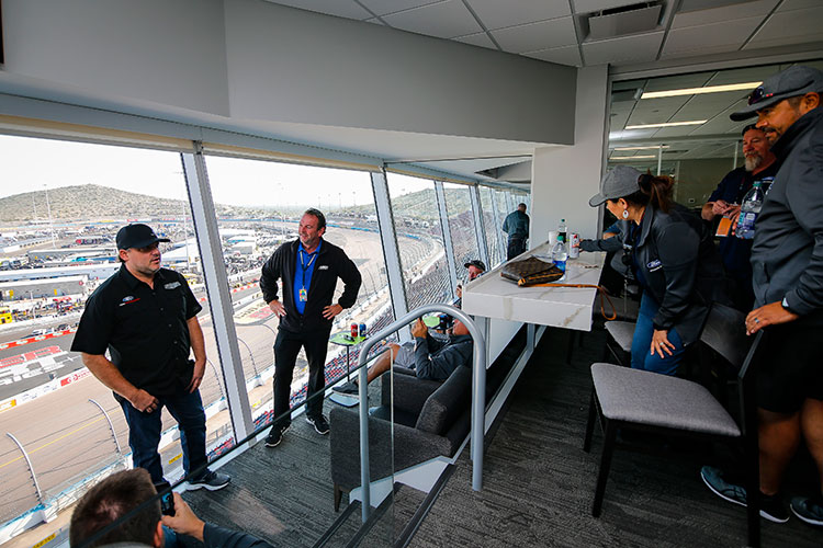Hospitality photo - Anatomy of a NASCAR Sponsorship