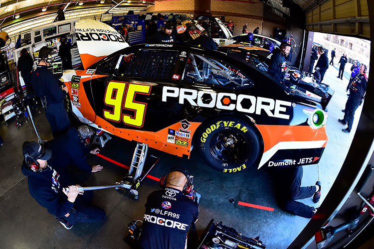 NASCAR Garage photo - Anatomy of a NASCAR Sponsorship