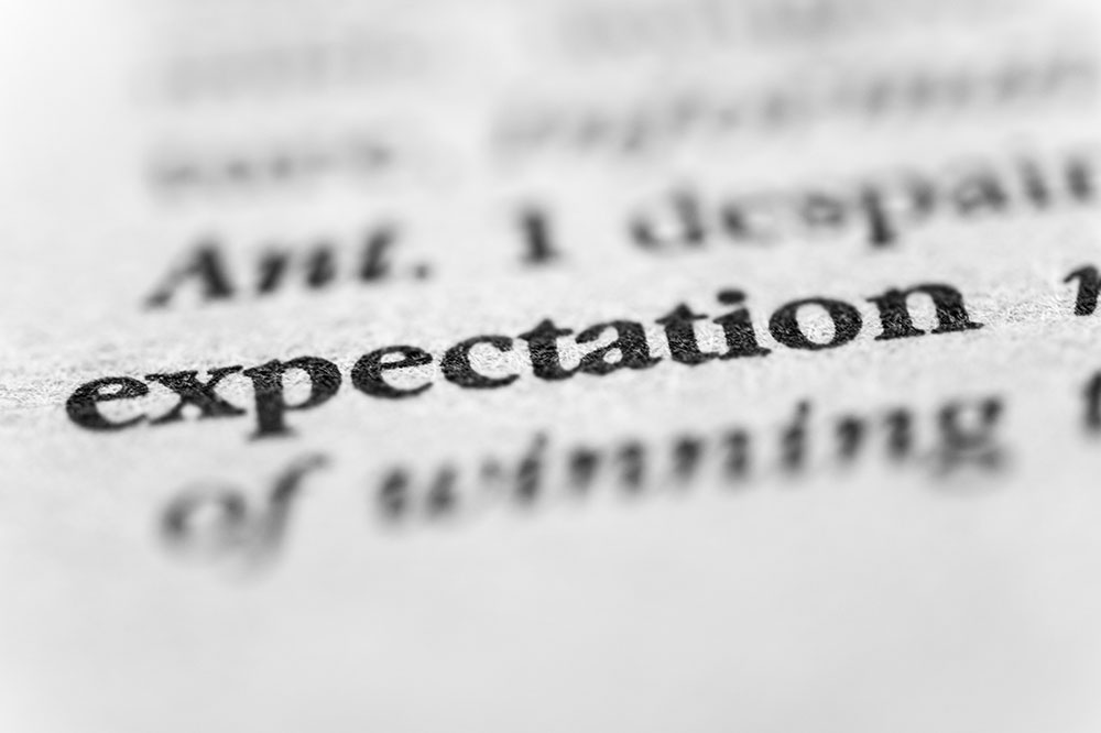 Managing Expectations - On and Off the Track